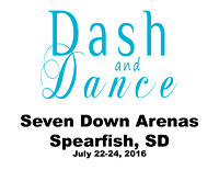 Dash and Dance July 22-24, 2016